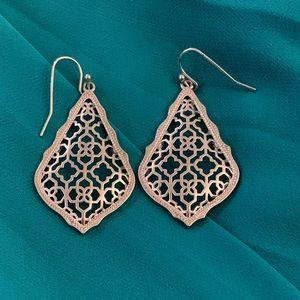 Kendra Scott small silver earrings